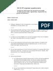 NSN 3G RF Engineer Questionnaire_V1