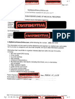 Example of Medical Records