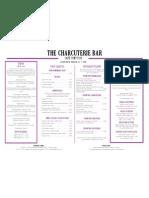 Charcuterie-menu-lunch