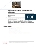 Upgrade Guide for Cisco Digital Media Suite Release 5.2.2