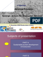 # 01-Fundamental Principles Synergic Eco Tourism