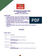 Clinic de Treinadores de Pesaro