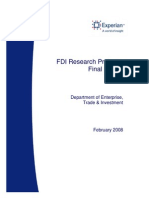 Fdi Research Final Report