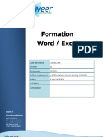 Formation Word Excel v 20081218