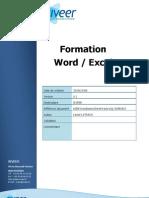 Formation Word Excel v 20081218