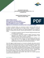Documento Conclusivo 21 maggio