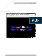 Manual BluffTitler DX9