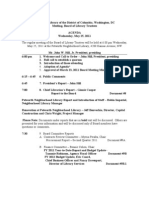 Board Meeting - May 2011 - Final Agenda
