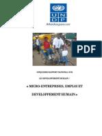 Cinquième rapport national sur le développement humain