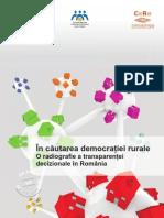 In cautarea democratiei rurale. O radiografie a transparentei decizionale in Romania