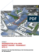 request for the pre-proposal - The Katowice City Center Redevelopment