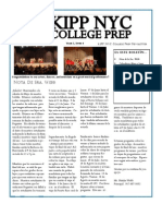KIPP NYC CP May Newsletter (Spanish)