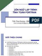Giới thiệu về Fortran