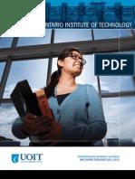UOIT Undergraduate Academic Calendar - 2011 to 2012