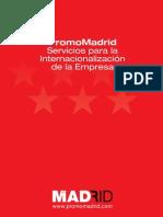 PromoMadrid Servicios para la Internacionalizacion