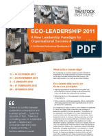 Eco-Leadership Leaflet Short