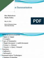 Document Summarization - Elias-Martha - Final