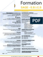 DeltaSysteme Perpignan 541-10EB Formation Sage - EBICS