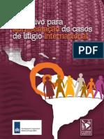 Instrutivo para apresentação de casos de litígio internacional