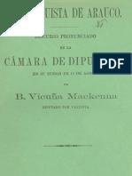 Vicuña Mackenna Conquista de Arauco