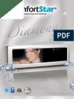 ComfortStar Diamond Series MiniSplit Systems Brochure