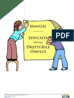 Manualul pentru Educaţie pentru Drepturile Omului