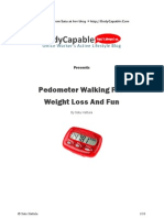 Pedometer Walking for Weight Loss and Fun