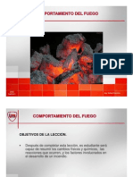 Comportamiento del fuego