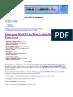 Fonera con DD-WRT in Client Bridged Mode – La Guida Passo Passo