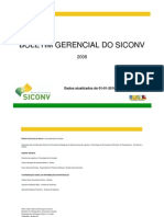 Boletim Gerencial SICONV 2008