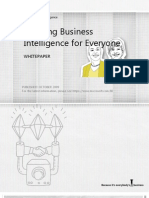 Enabling Business Intelligence for Everyone