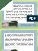 ejemplo historia santander