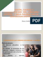 Presentación Elena Valdiviezo CNE