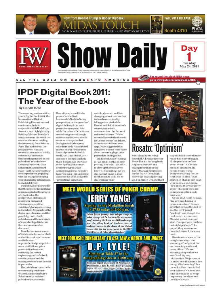 Pw show daily day 1 may 24 e books american broadcasting company fandeluxe Gallery