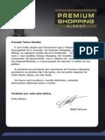 Premium Alshop-Prêmio Gestão Social & Ambiental do Unique Shopping Parauapebas- Região Norte