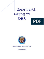 The Unofficial Guide to DBA