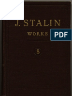 WORKS OF STALIN VOL 8