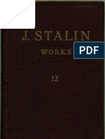 WORKS OF STALIN VOL 12