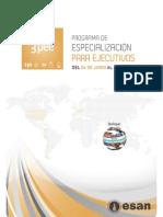 3 PEE 2011 - Programa de especialización para ejecutivos en ESAN