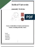 Female Infertility in the U.a.E