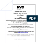 RFP Local Assessments
