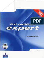 First Certificate Expert Course Book New 2008