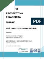 ENSAYO PROSPECTIVA FINANCIERA