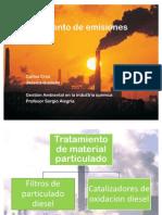 Tratamiento de emisiones