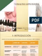 PERSONAS CON ALTAS CAPACIDADES presentación