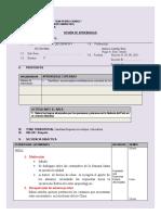 SESIÓN DE APRENDIZAJE CCSS 3