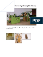 Automatic PaperBag Making Machinery