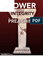 The Power of Integrity In Preaching