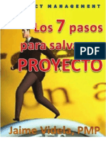 7 Pasos Para Salvar Un Proyecto