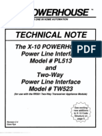X10 technicalnote